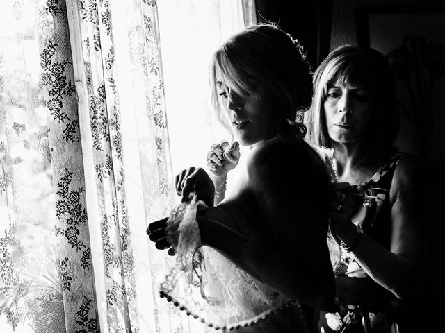 La boda de Angel y Leire en Torrelodones, Madrid 11