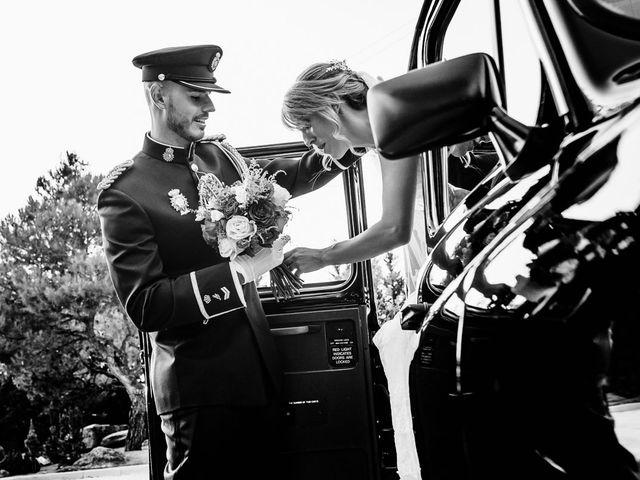 La boda de Angel y Leire en Torrelodones, Madrid 1