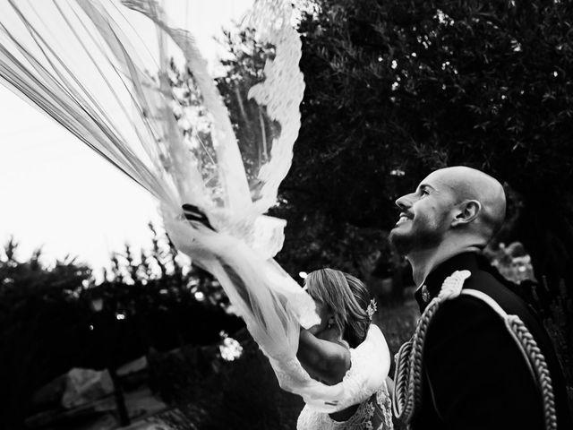 La boda de Angel y Leire en Torrelodones, Madrid 21