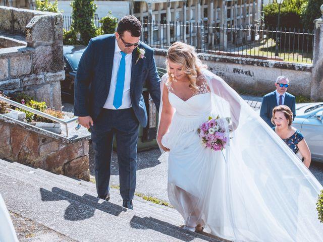 La boda de Alberto y Itciar en Mondariz, Pontevedra 14