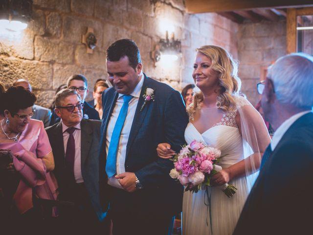 La boda de Alberto y Itciar en Mondariz, Pontevedra 15