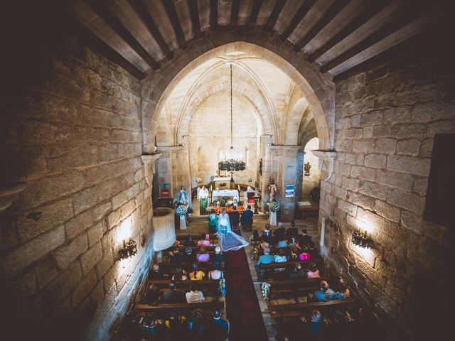 La boda de Alberto y Itciar en Mondariz, Pontevedra 17