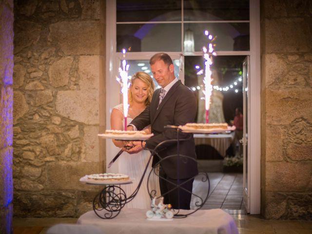 La boda de Alberto y Itciar en Mondariz, Pontevedra 32