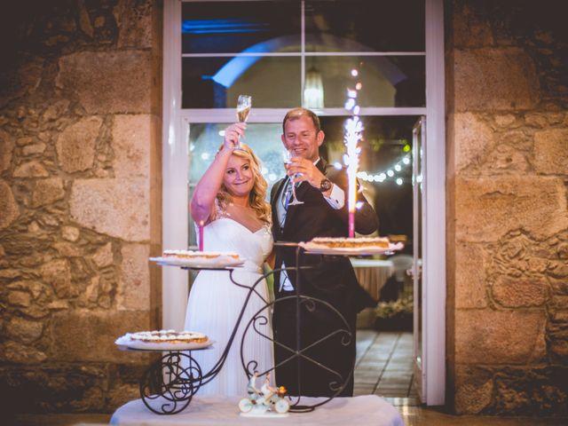 La boda de Alberto y Itciar en Mondariz, Pontevedra 33