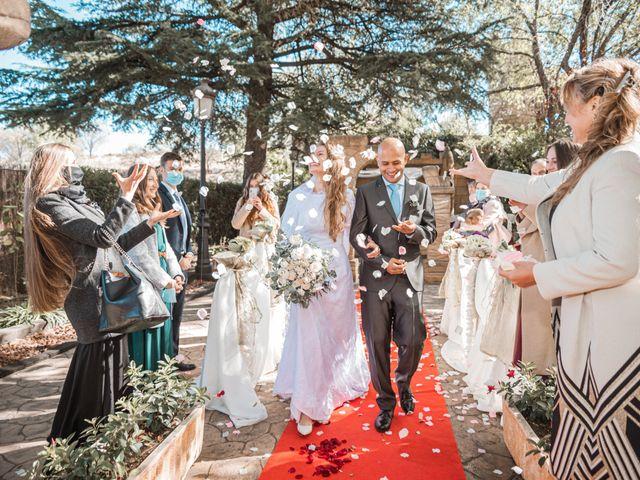 La boda de Alfredo y Marina en Madrid, Madrid 35