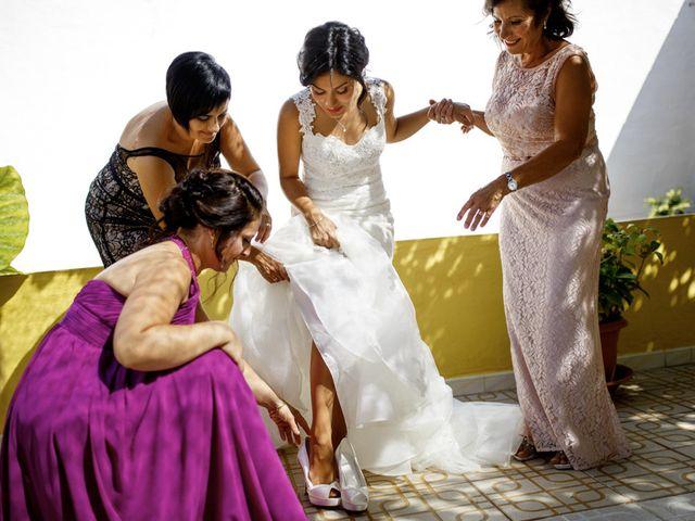 La boda de Joel y Maria Jose en Sant Cugat Sesgarrigues, Barcelona 16