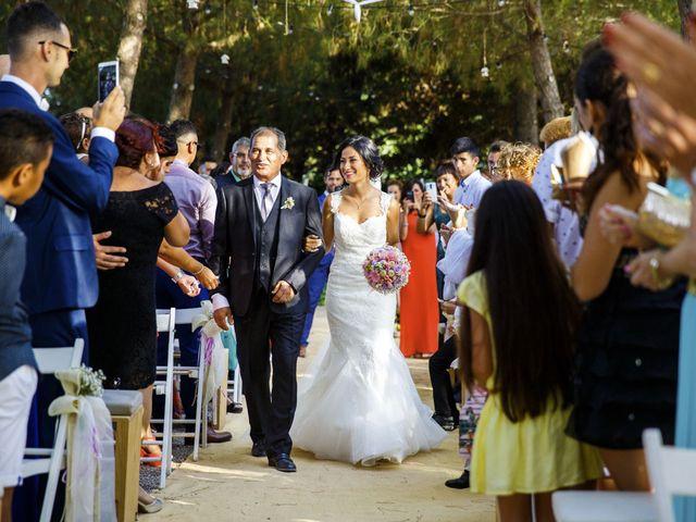 La boda de Joel y Maria Jose en Sant Cugat Sesgarrigues, Barcelona 55