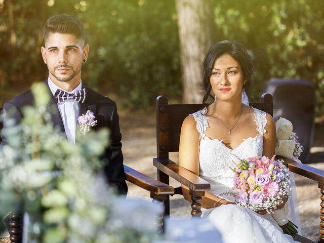 La boda de Joel y Maria Jose en Sant Cugat Sesgarrigues, Barcelona 56