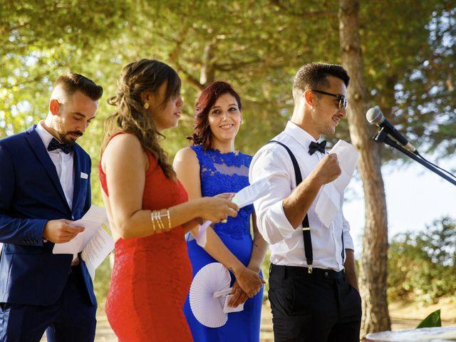 La boda de Joel y Maria Jose en Sant Cugat Sesgarrigues, Barcelona 59