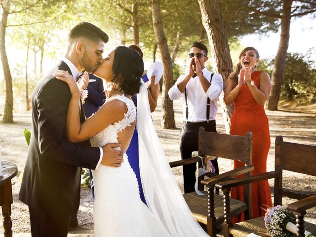 La boda de Joel y Maria Jose en Sant Cugat Sesgarrigues, Barcelona 62