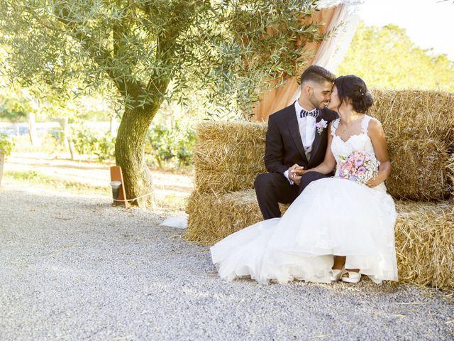 La boda de Joel y Maria Jose en Sant Cugat Sesgarrigues, Barcelona 67