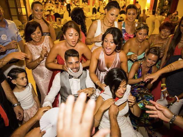 La boda de Joel y Maria Jose en Sant Cugat Sesgarrigues, Barcelona 79