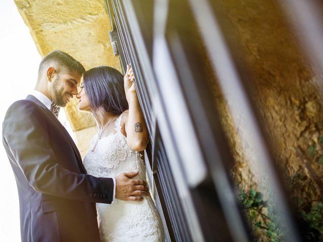 La boda de Joel y Maria Jose en Sant Cugat Sesgarrigues, Barcelona 99