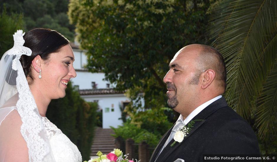 La boda de Pepi y Paco en Montejaque, Málaga