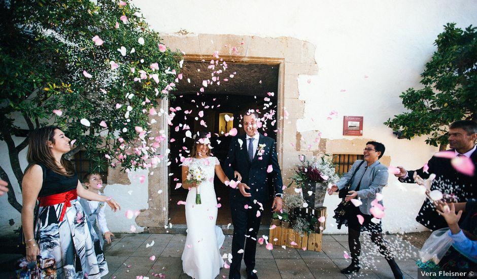 La boda de Alvar y Eva en Llafranc, Girona