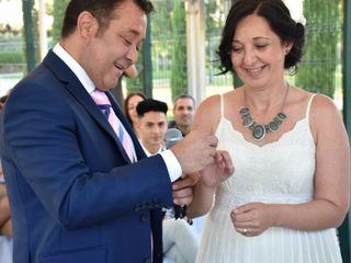 La boda de Ines y Ernesto