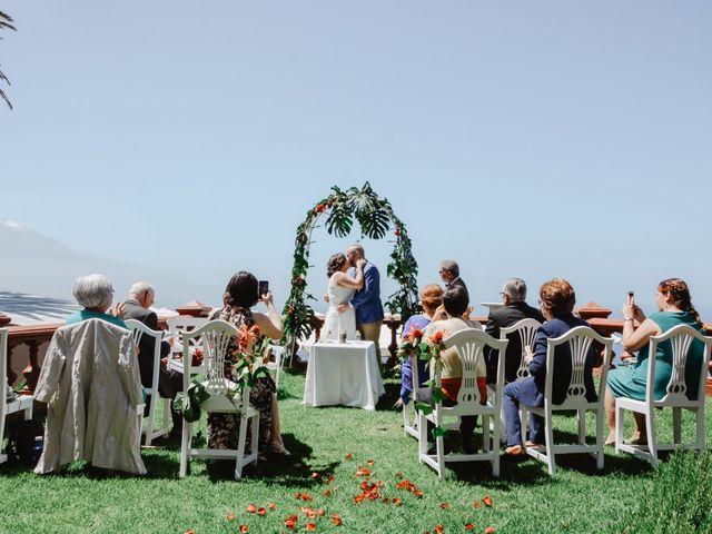 La boda de Diego y Noemi en El Sauzal, Santa Cruz de Tenerife 1