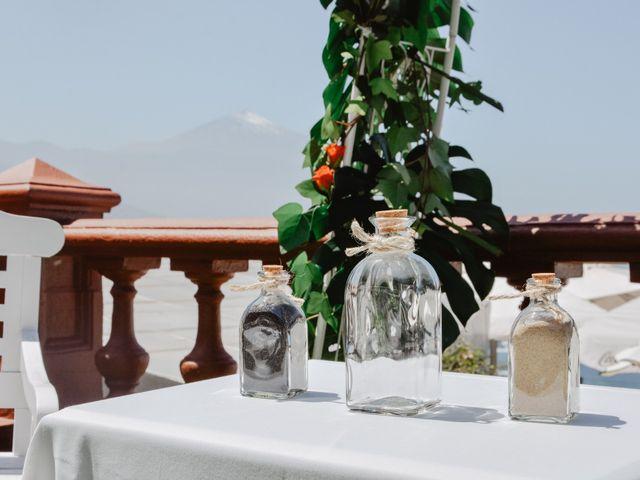 La boda de Diego y Noemi en El Sauzal, Santa Cruz de Tenerife 5