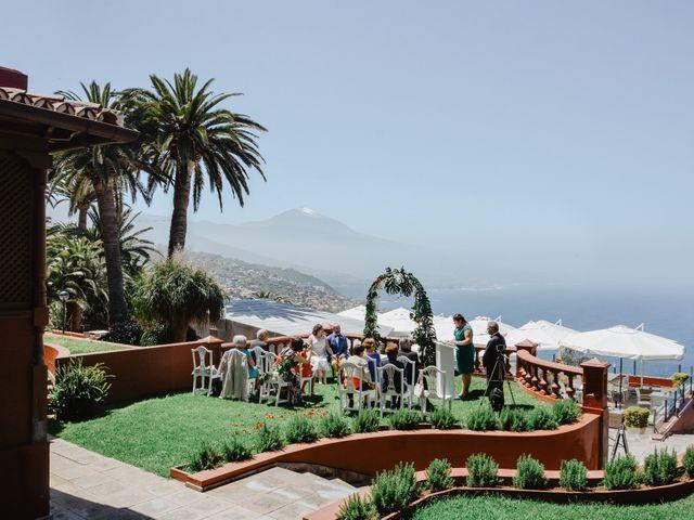 La boda de Diego y Noemi en El Sauzal, Santa Cruz de Tenerife 6