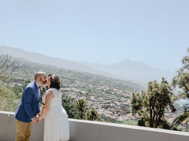 La boda de Diego y Noemi en El Sauzal, Santa Cruz de Tenerife 7