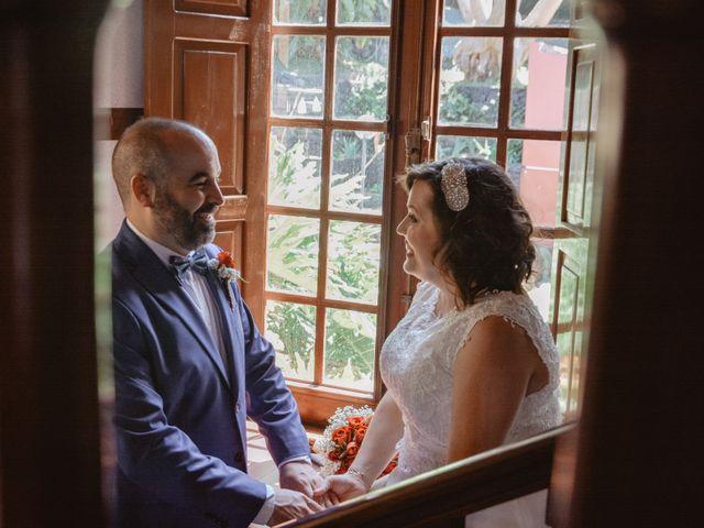 La boda de Diego y Noemi en El Sauzal, Santa Cruz de Tenerife 8