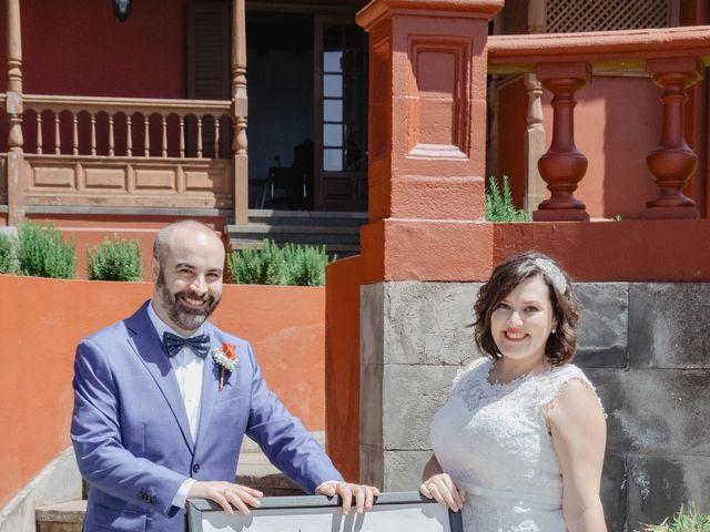 La boda de Diego y Noemi en El Sauzal, Santa Cruz de Tenerife 10