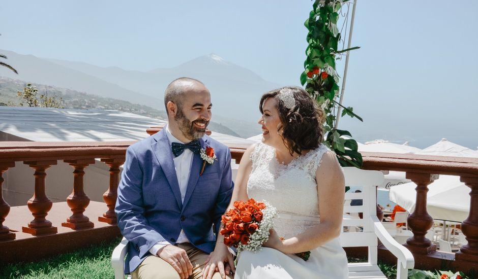 La boda de Diego y Noemi en El Sauzal, Santa Cruz de Tenerife
