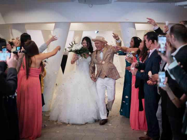 La boda de María y Jay