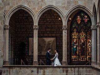 La boda de Edgard y Marta