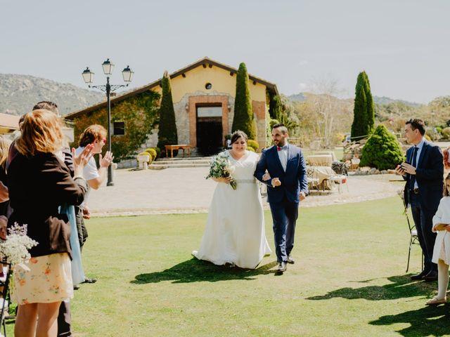 La boda de Óscar y Silvia en Collado Villalba, Madrid 37