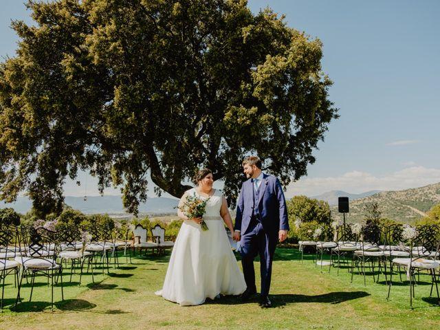 La boda de Óscar y Silvia en Collado Villalba, Madrid 54