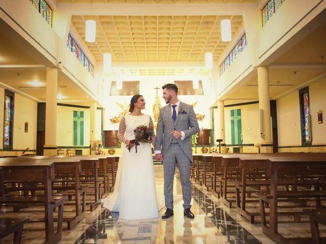 La boda de Adrián y Sandra en Alhaurin El Grande, Málaga 34