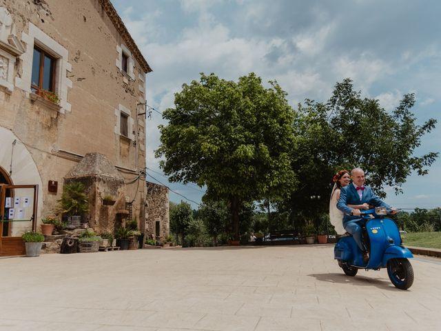 La boda de Miguel y Marina en Estanyol, Girona 35