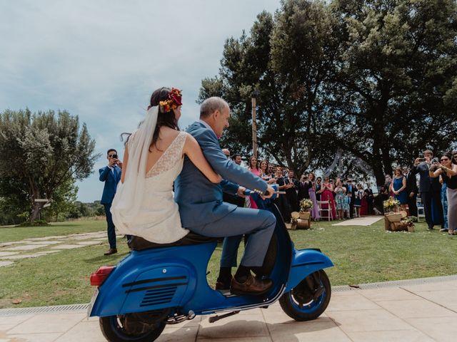La boda de Miguel y Marina en Estanyol, Girona 36