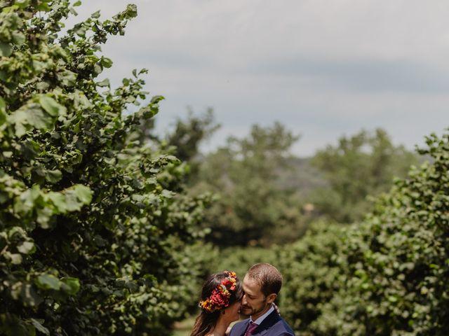 La boda de Miguel y Marina en Estanyol, Girona 50