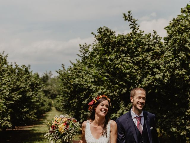 La boda de Miguel y Marina en Estanyol, Girona 52