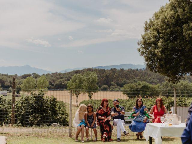 La boda de Miguel y Marina en Estanyol, Girona 62