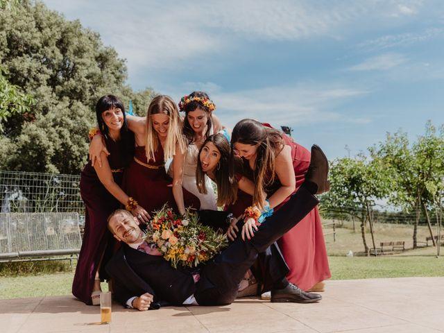 La boda de Miguel y Marina en Estanyol, Girona 69