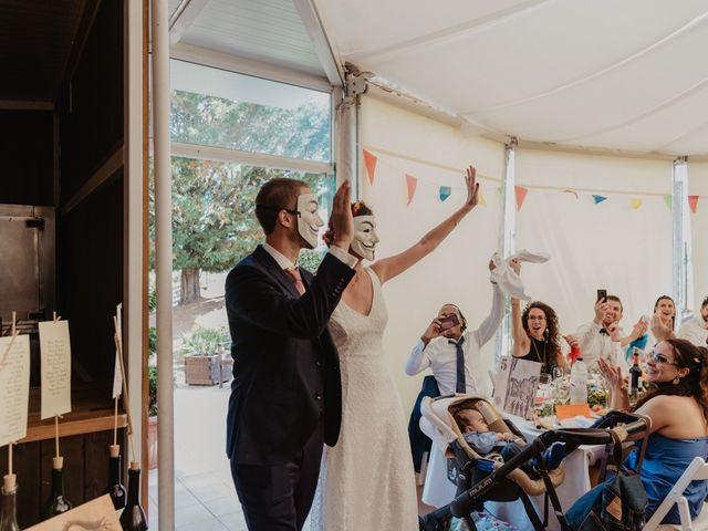 La boda de Miguel y Marina en Estanyol, Girona 72
