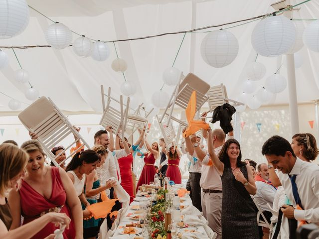 La boda de Miguel y Marina en Estanyol, Girona 75
