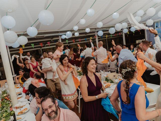 La boda de Miguel y Marina en Estanyol, Girona 76