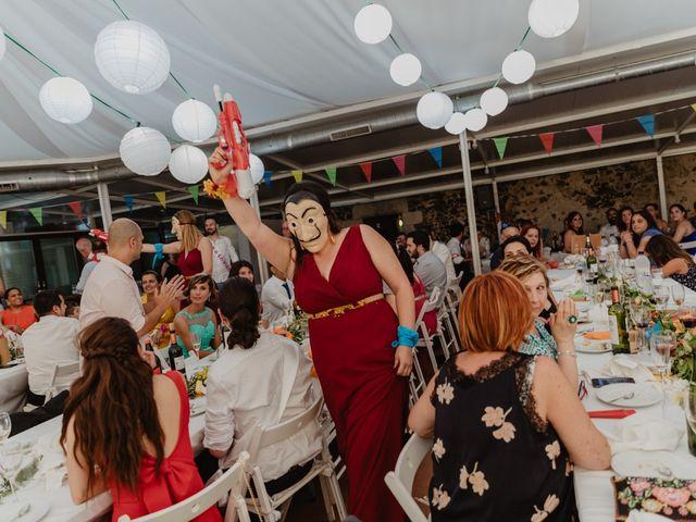 La boda de Miguel y Marina en Estanyol, Girona 83