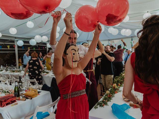 La boda de Miguel y Marina en Estanyol, Girona 84