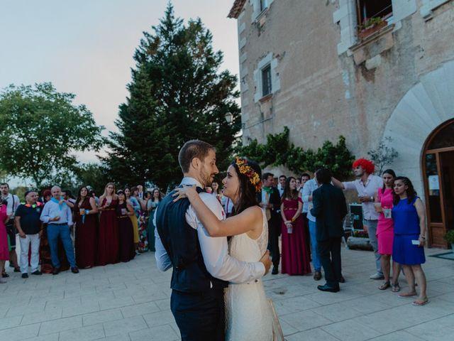 La boda de Miguel y Marina en Estanyol, Girona 95