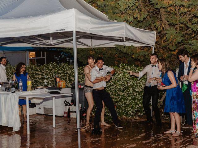 La boda de Miguel y Marina en Estanyol, Girona 101