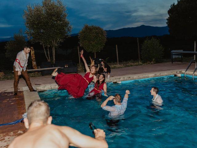 La boda de Miguel y Marina en Estanyol, Girona 102