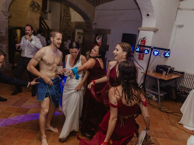 La boda de Miguel y Marina en Estanyol, Girona 105