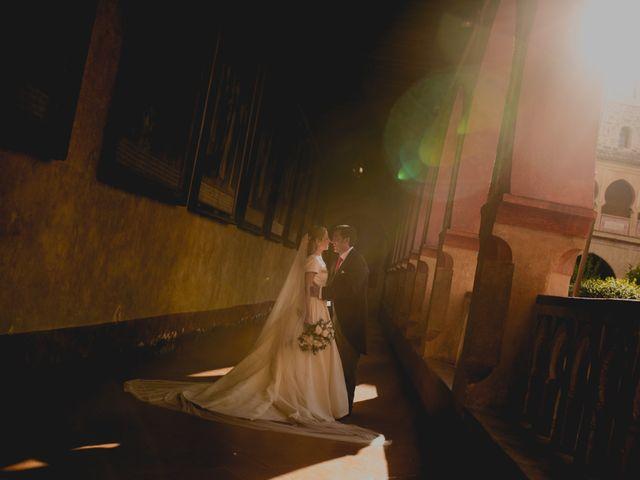 La boda de Rafael y Raquel en Guadalupe, Cáceres 34