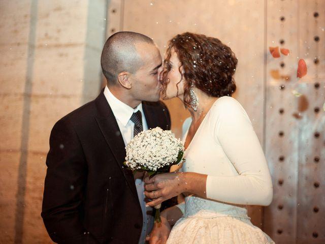 La boda de Estel·la y Pau