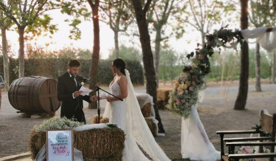 La boda de Jaime y Lorena en Sant Cugat Sesgarrigues, Barcelona